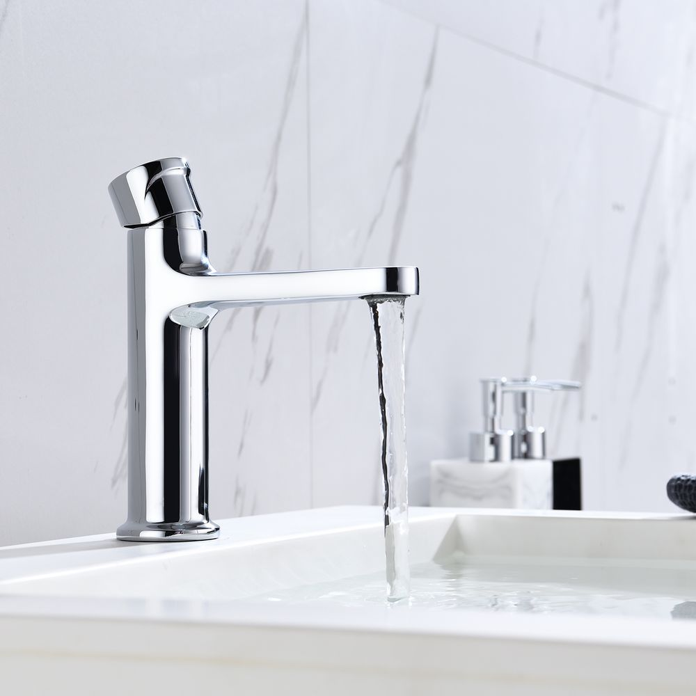 Basin Mixer Tap with rotary knob BERNSTEIN 8211 - different colours available – Bild 6