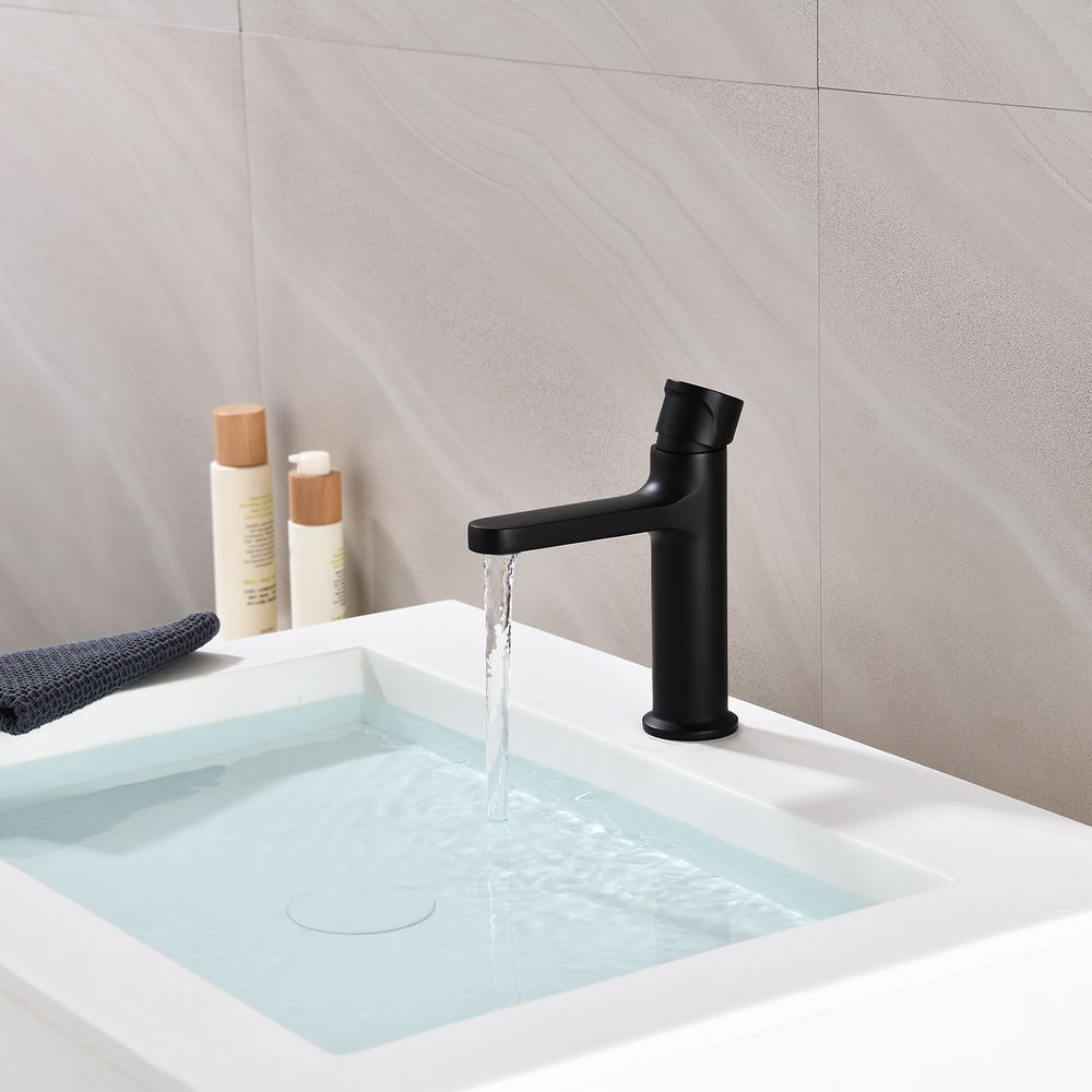 Basin Mixer Tap with rotary knob BERNSTEIN 8211 - different colours available – Bild 8