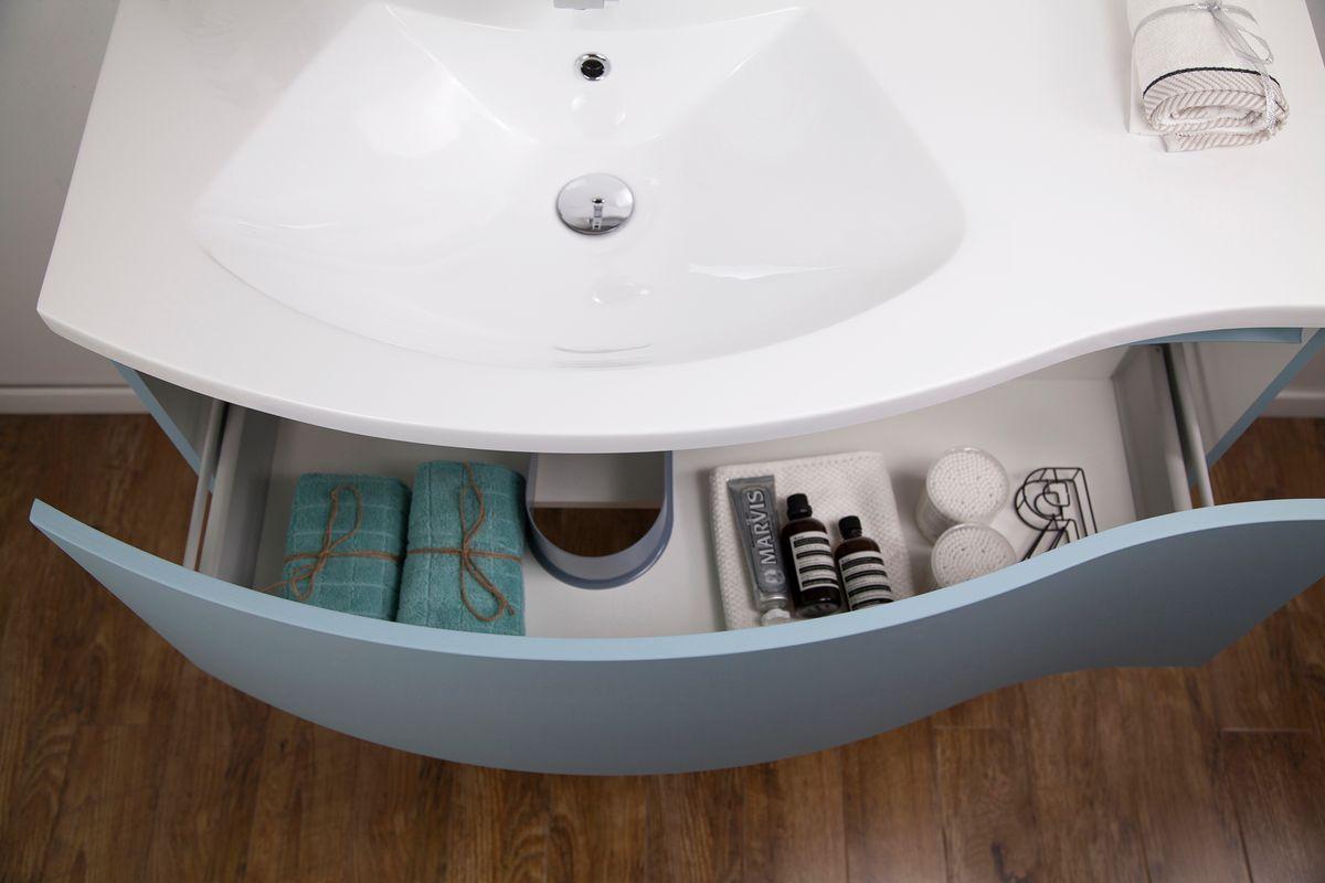 Muebles de baño LENA 1000 blanco mate - espejo opcional – Bild 4