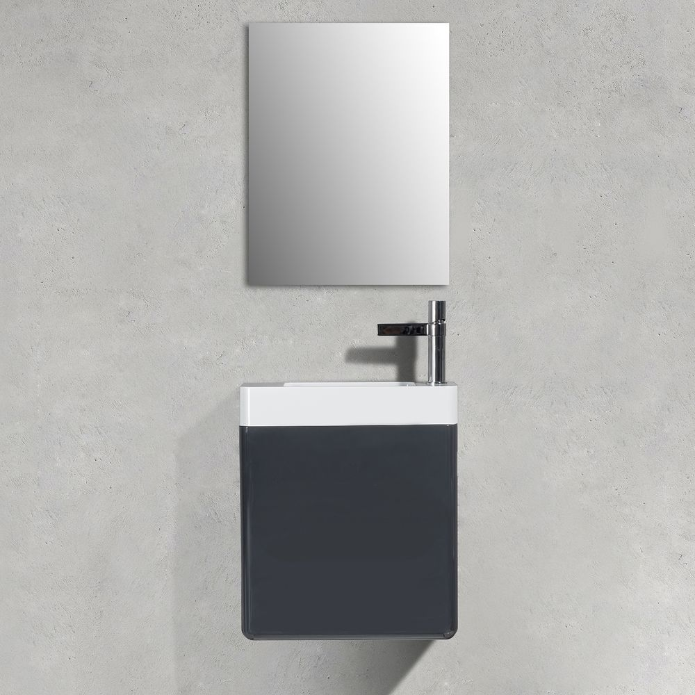 Bathroom Furniture Set CARO 450 - available in different colours - optional mirror cabinet – Bild 18
