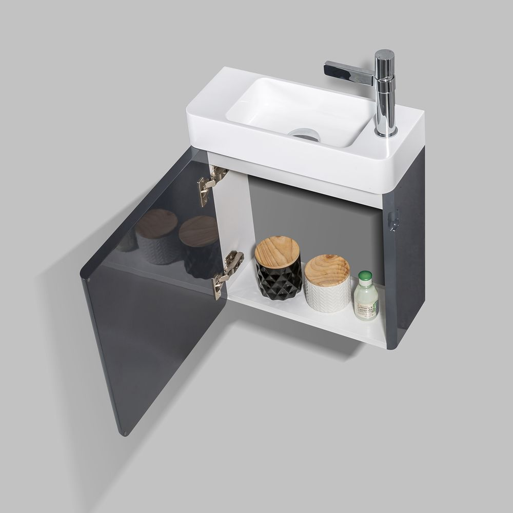 Bathroom Furniture Set CARO 450 - available in different colours - optional mirror cabinet – Bild 19