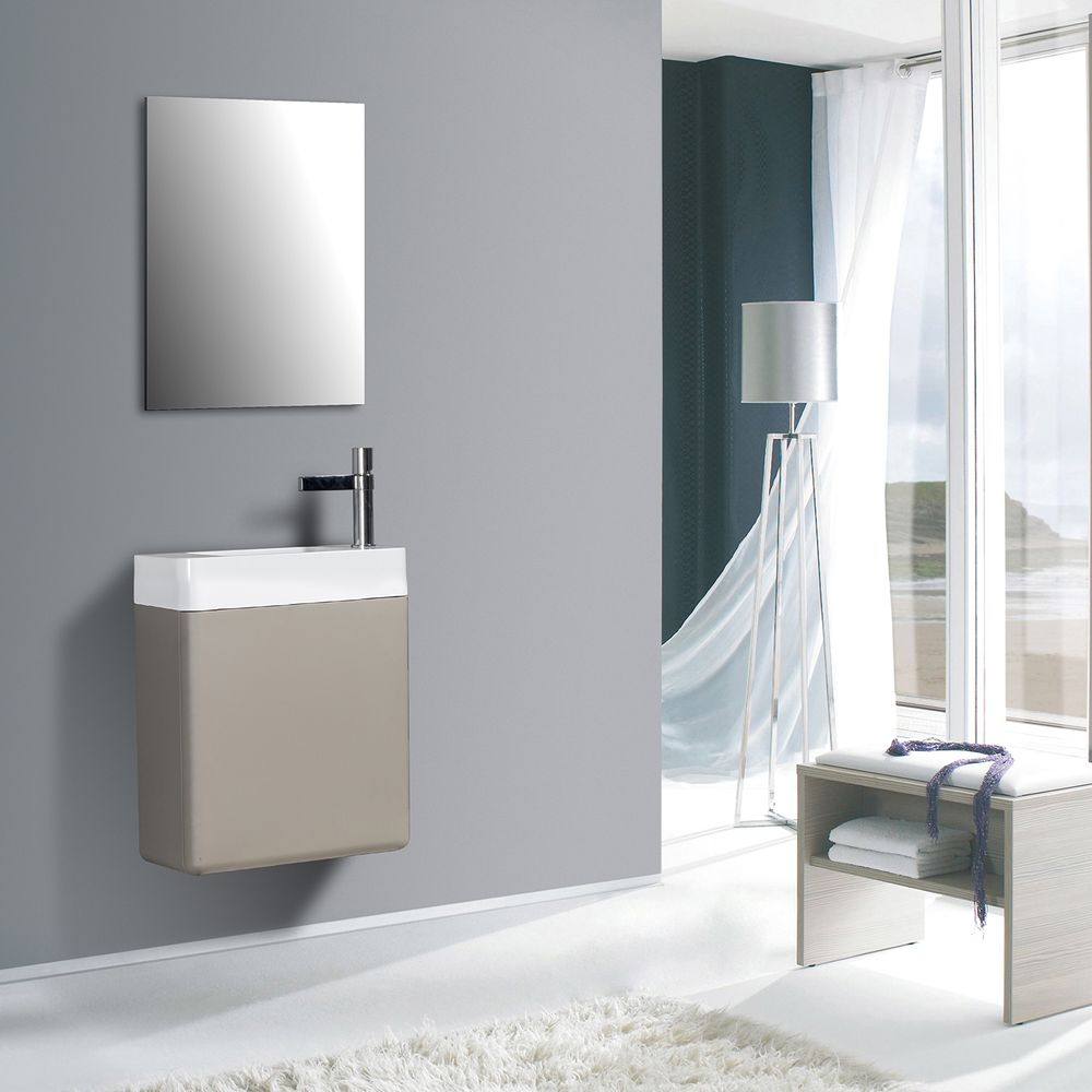 Bathroom Furniture Set CARO 450 - available in different colours - optional mirror cabinet – Bild 3