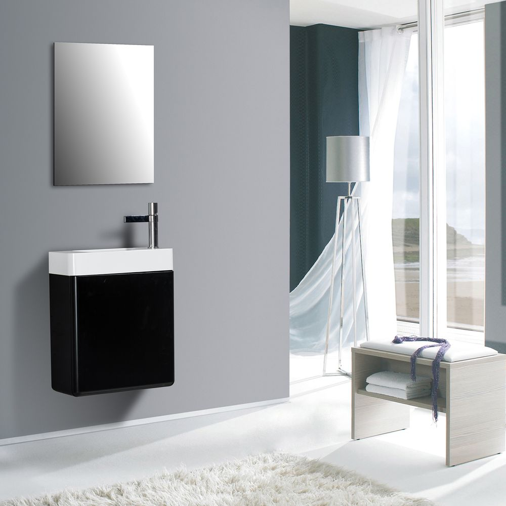 Bathroom Furniture Set CARO 450 - available in different colours - optional mirror cabinet – Bild 2