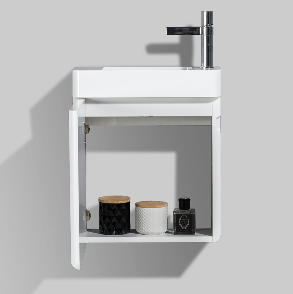 Bathroom Furniture Set CARO 450 - available in different colours - optional mirror cabinet – Bild 8