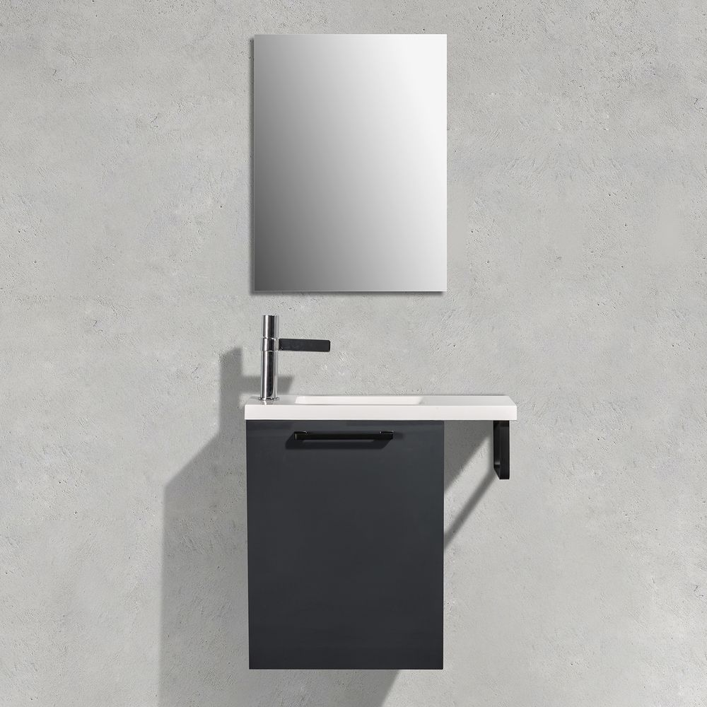 Bathroom Furniture Set TABLO 400 - available in different colours - optional mirror cabinet – Bild 9