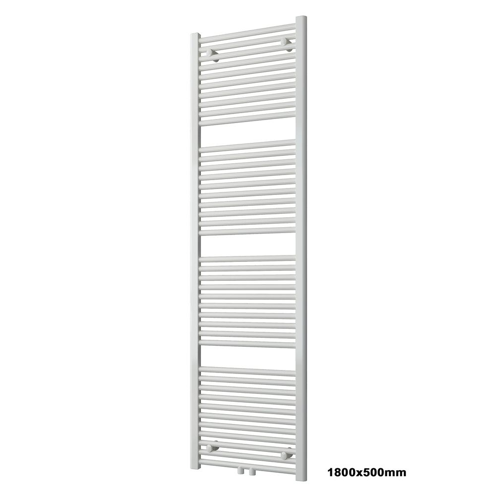 BERNSTEIN Badheizkörper Handtuchwärmer R18W Weiß gerade - Größe wählbar – Bild 12