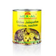 Chili Schoten - Jalapenos, geschnitten, 2,8 kg