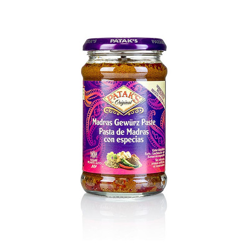 Curry Paste  Madras , scharf, von Patak, 283g