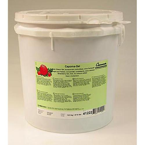 Capoma-Gel, Erdbeer-Schnellgeliergelee, Tortenguss, 12,5 kg
