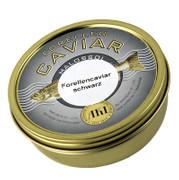 Forellen-Kaviar, schwarz, 200g