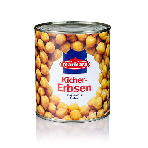 Kichererbsen in Salzlake, 800g