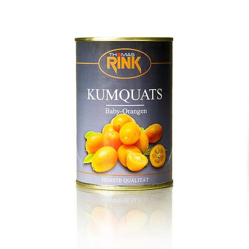 Kumquats (Baby Orangen), gezuckert, 425g