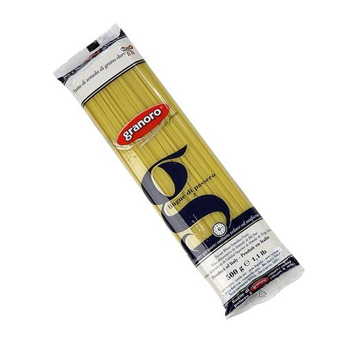 Granoro Lingue di Passero, Bandnudel, 3mm, No.3, 500g