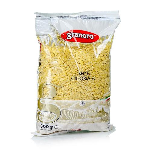Granoro Seme Cicoria, Reiskornform, No.70, 500g