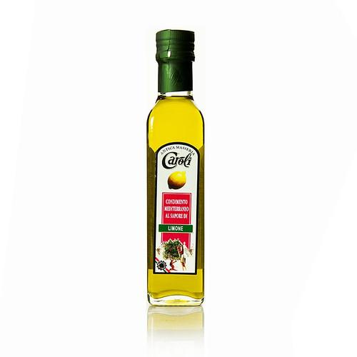 Caroli - Olivenöl Extra Vergine mit Zitrone, 250 ml
