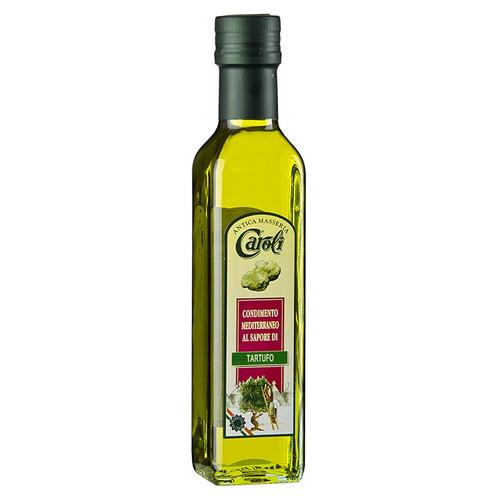 Caroli - Olivenöl Extra Vergine mit weißer Trüffel-Aroma, 250 ml