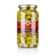 Grüne Oliven, ohne Kern, in Lake, 935g