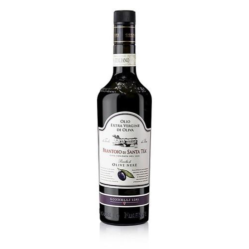 Olivenöl Santa Tea Gonnelli, Dolce Delicato, Olio Extra Vergine, schwarze Oliven, 750 ml