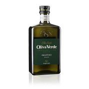Olivenöl Oliva Verde, 100% Frantoio Toscana, Olio Extra Vergine, grünes Etikett, 500 ml