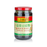 Black Bean Paste, mit Knoblauch, Lee Kum Kee, 368g