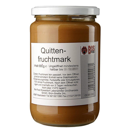 Quitten-Püree/ Mark, fein passiert, 680g