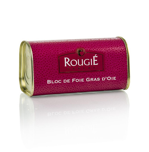 Gänseleberblock, Trapez, min. 87% Foie Gras, Rougié, 210 g