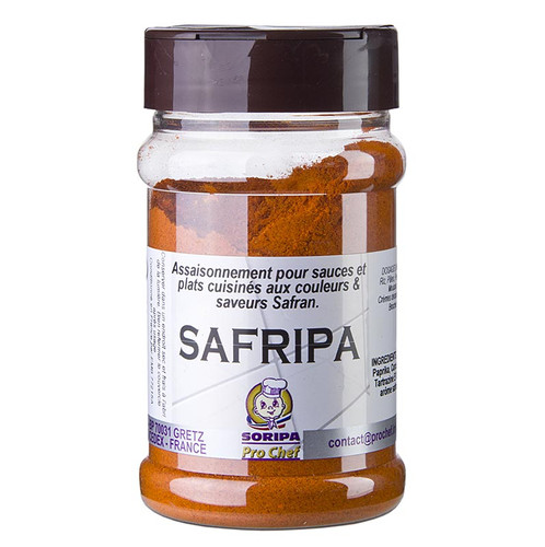 Safripa - Safran-Aroma-Mischung, mit Paprika und Curcuma, 170g