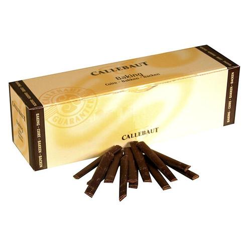 Schokoladenstäbe, Zartbitter zum Backen, ca. 300 St, 8cm, 45% Kakao, 1,6 kg