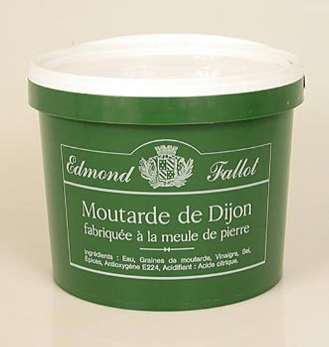 Dijon Senf, fein und scharf, Fallot, 4,75 l