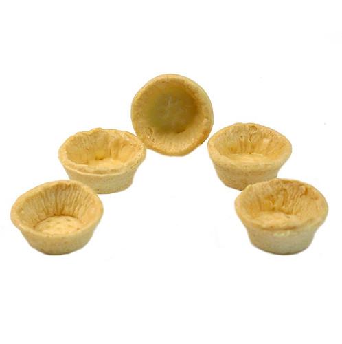 Snack-Tartelettes, rund, ø 4,2cm, hell, salzig, 990g, 160 St