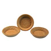 Snack-Tartelettes, rund, ø 9cm, hell, salzig, 3,12 kg, 120 St