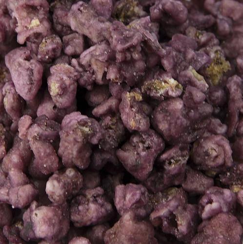 Echte Veilchen-Blütenblätter, violett, kandiert, ø ca. 1,5-3cm, essbar, Deliflor, 1 kg