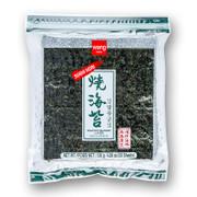 Yakinori ganze Größe, getrocknete Algenblätter, geröstet, 50 Blatt