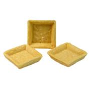Snack-Tartelettes, quadratisch, 5x5cm, hell, salzig, 1,49 kg, 162 St