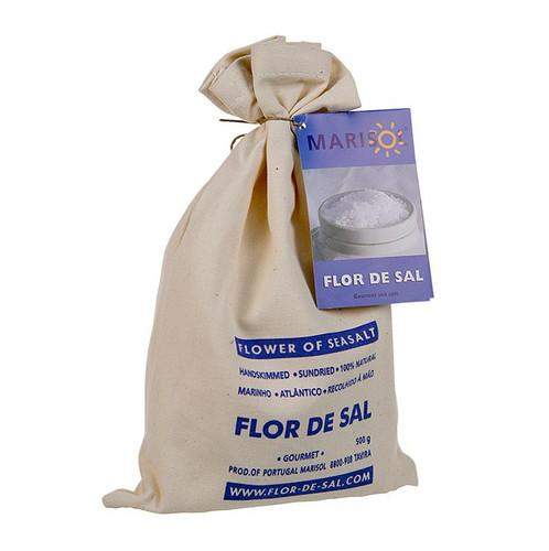 Flor de Sal - Die Salzblume, Marisol®, CERTIPLANET-,Kosher-zert.,vegan, 500g