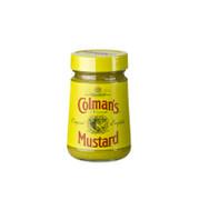 English Mustard, hellgelb, fein und scharf, von Colman-England, 100 g