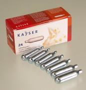 Einweg Sahnekapseln für alle üblichen Systeme, von Kayser, 24 St