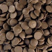 Aromatisierte Dekormasse - Cappuccino Couverture, als Callets, 2,5 kg