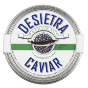 Desietra Baeriskaya Kaviar (baerii), Aquakultur, ohne Konservierungsmittel, 50g