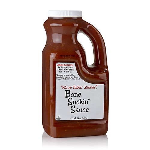 Bone Suckin´ Sauce Regular, BBQ Sauce, Ford´s Food, 1,89 l