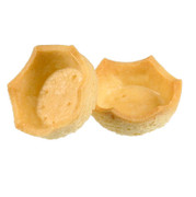 Dessert-Tartelettes - Royal, hell, Kronenrand, ø 5cm, 1,5cm, Mürbeteig, 1,73 kg, 184 St