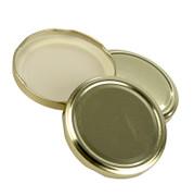 Golddeckel für Sturzgläser, 82mm, 230/440 ml, 1 St