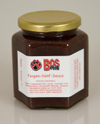 BOS FOOD Feigen-Senf-Sauce, eigene Kreation mit roten Feigen, 370 ml