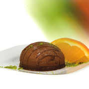 BOS FOOD Sweet Classics - Creme von Sachertorte, TK, 1,32 l, 12 x110ml