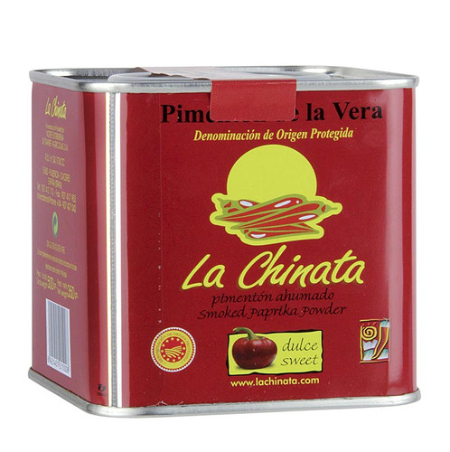 Paprikapulver - Pimenton de la Vera D.O.P., geräuchert, süß, Spanien, 350g