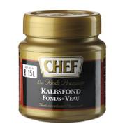 CHEF Premium Kalbsfond, leicht pastös, dunkel, für 8-15 L,  640 g