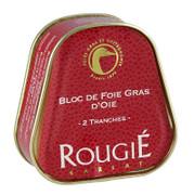 Gänseleberblock, Trapez, 98% Foie Gras, Rougié, 75g