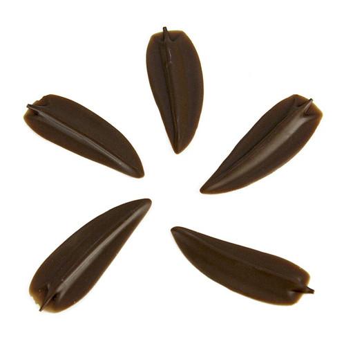 Deko-Aufleger  Elegance-Blatt , Milchschokolade, 185g, 160 St