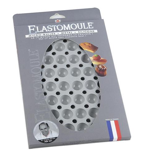 deBUYER Backform Elastomoule, 48 Mini-Halbkugeln, ø 25mm,1cm hoch, 17,6x30cm, 1 St