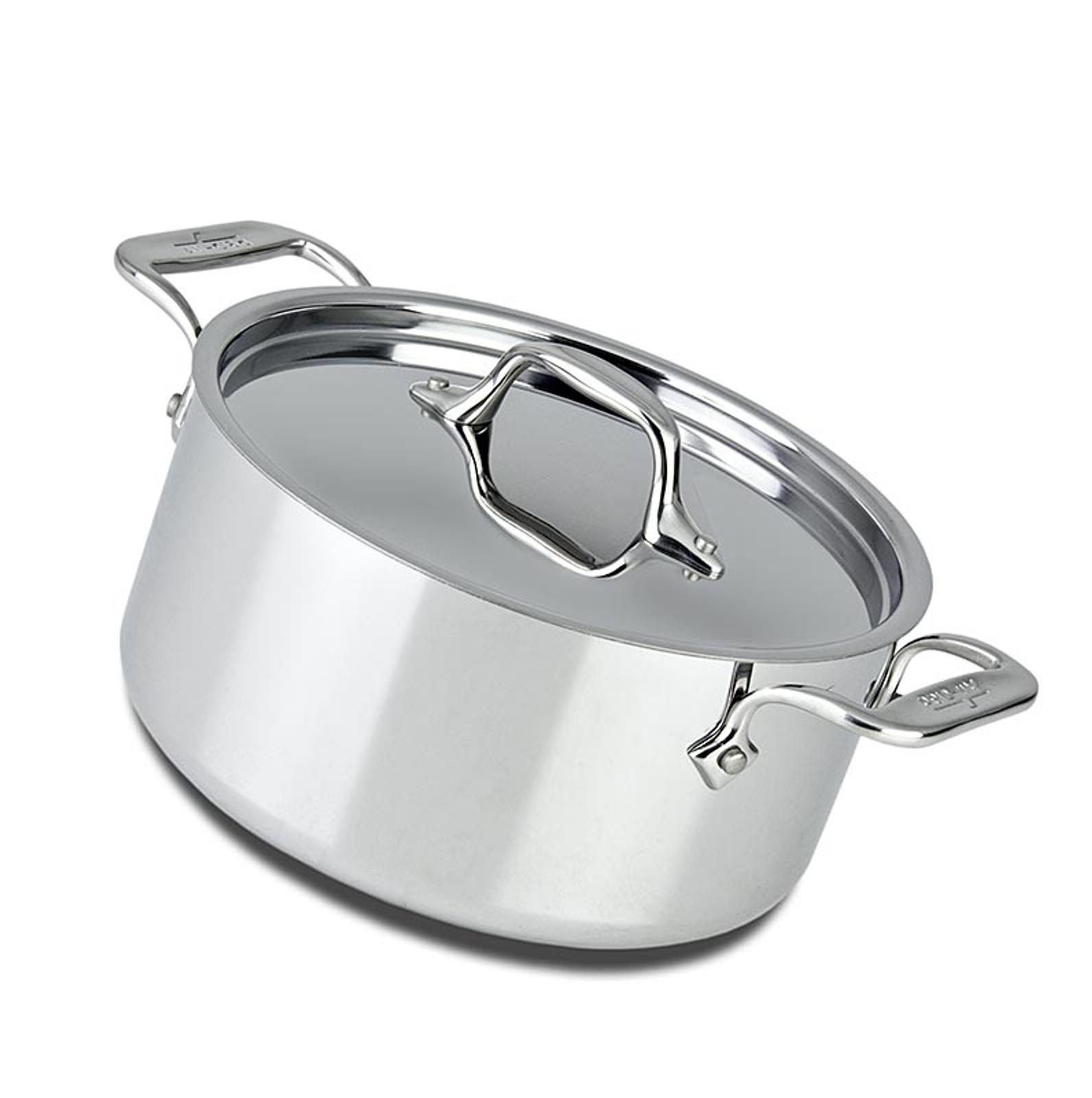 all clad kasserolle mit deckel induktion 20 3cm 2 8 l 1 st non food kochgeschirr. Black Bedroom Furniture Sets. Home Design Ideas